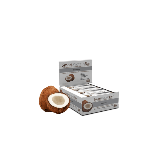 Smart Protein Bar - Coconut - Box of 12 - 720g - Ketogenic Supplies