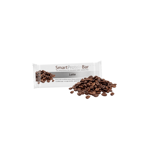 Smart Protein Bar - Latte - Box of 12 - 720g - Ketogenic Supplies