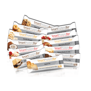Smart Protein Bar Protein Bar Smart Protein Bar - Mixed Selection - All 20 Flavours - 1.2 KG