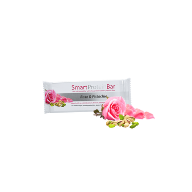 Smart Protein Bar - Rose & Pistachio - 60g - Ketogenic Supplies
