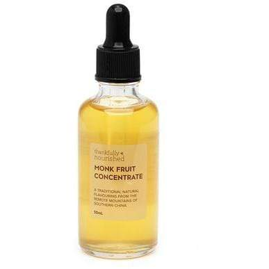 Monk Fruit Concentrate - Thankfully Nourished 50ml - Ketogenic Supplies