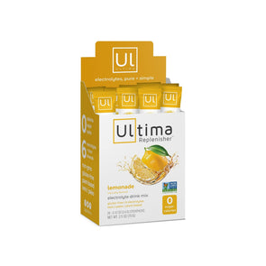Ultima Electrolytes Electrolytes - Ultima Replenisher - Lemonade - 20 Sticks - 68g