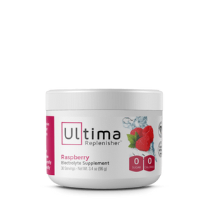 Electrolytes - Ultima Replenisher - Raspberry - 30 Serves 102g - Ketogenic Supplies