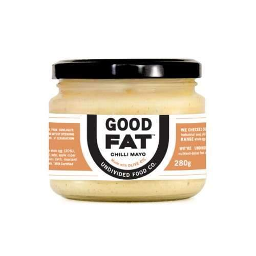 Good Fat Chilli Mayo  - Undivided Food Co - 280g - Ketogenic Supplies