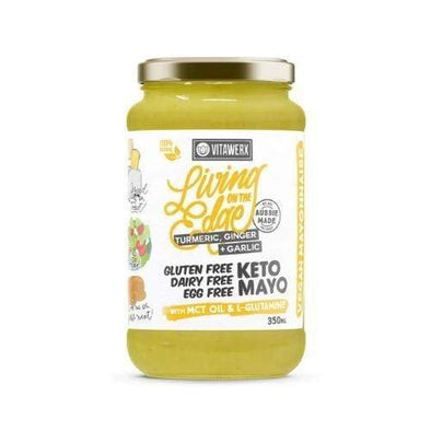 Keto Mayo - Turmeric, Ginger & Garlic - 350ml - Ketogenic Supplies