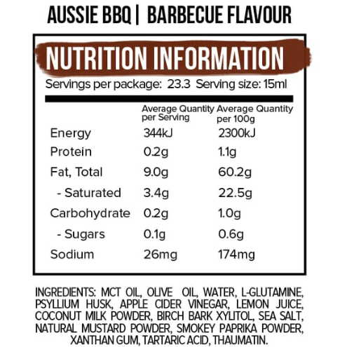 Mayo - BBQ Flavour- 350ml - Ketogenic Supplies