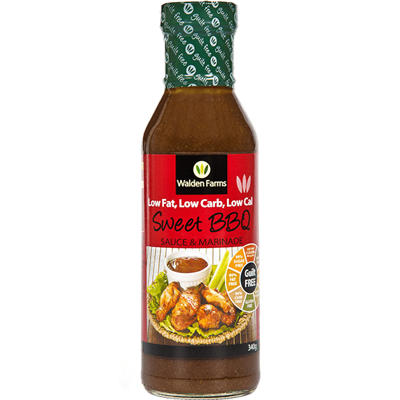 Walden Farms BBQ Sauce Sweet BBQ Sauce & Marinade - Walden Farms