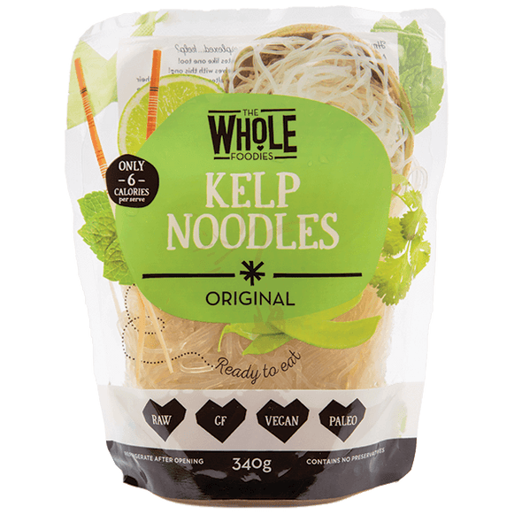Kelp Noodles - The Whole Foodies - 340g - Ketogenic Supplies