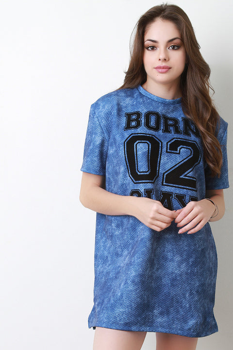 Born To Slay T-Shirt Dress