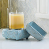 2 in 1 Ceramic Fragrance Warmer and Wax melt burner