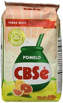 Yerba Mate CBSe Grapefruit Flavor, 1.1 lbs, from Argentina