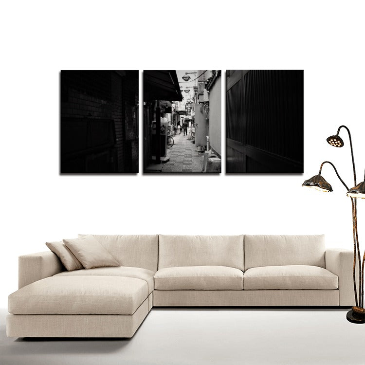 Streets of Japan 3 Panels Canvas Prints Wall Art for Wall Decorations