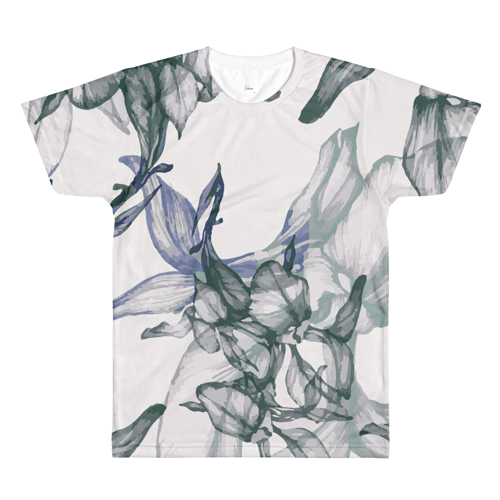 Men's Floral By Rhiannon All Over Tee