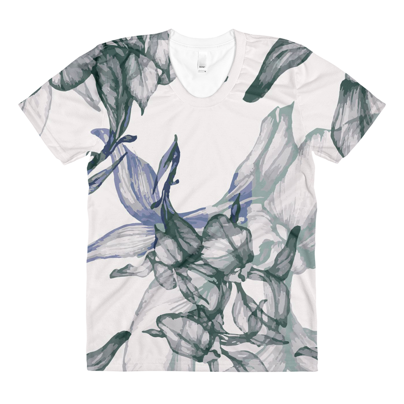 Women's Floral By Rhiannon All Over Tee