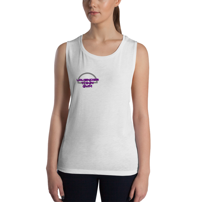 Women's Pokemon Lavender Town Gym Athletic Tank