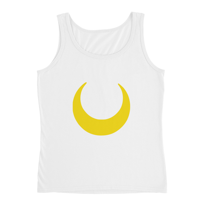 Womens Crescent Moon Tank Top