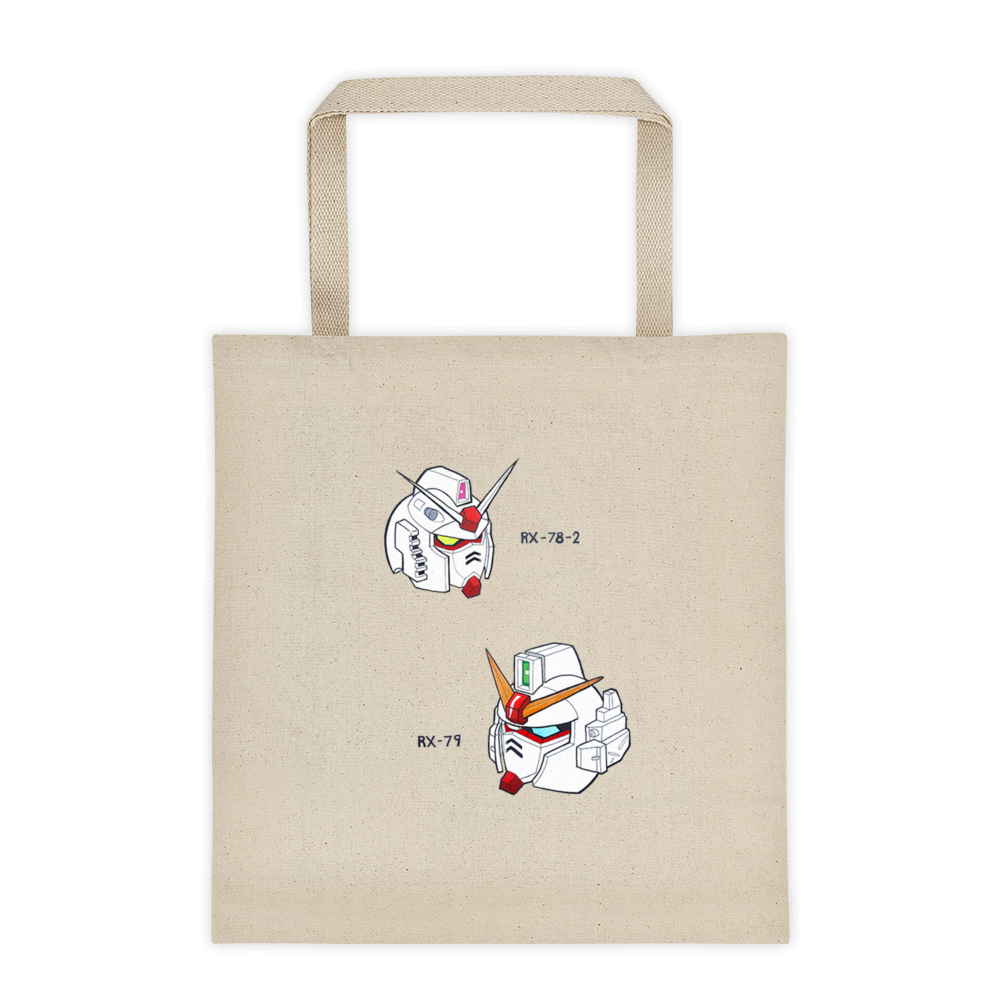 Heads Tote Bag