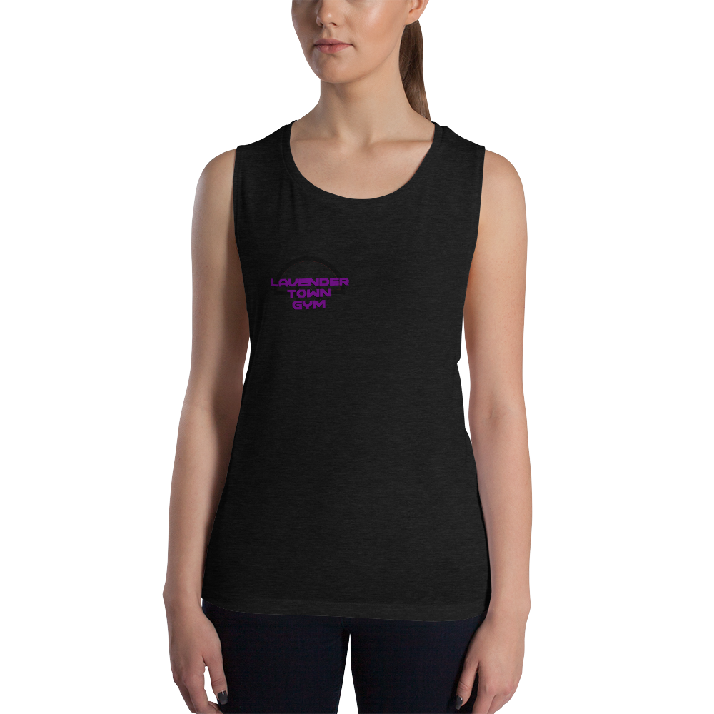 Women's Lavender Town Gym Athletic Tank