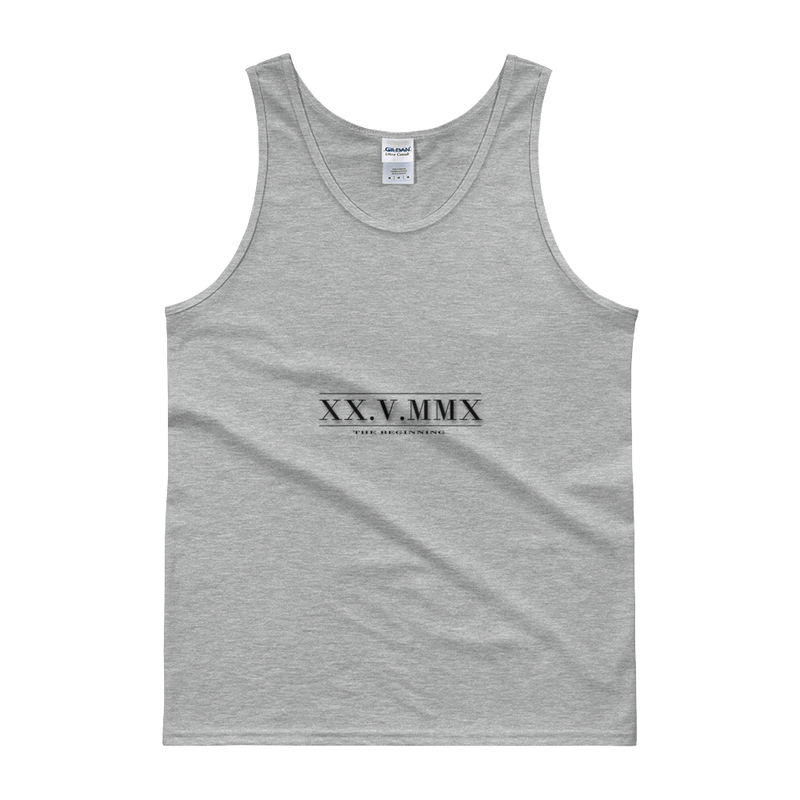6K.G Roman Numerals Men's Tank top
