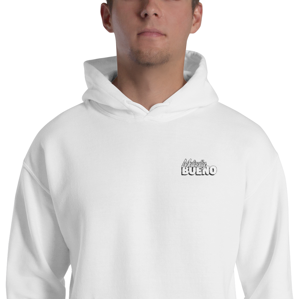 Mutually Bueno Black & White Hoodie