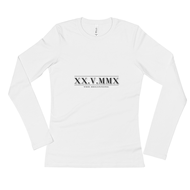6K.G Roman Numerals Women's long sleeve shirt