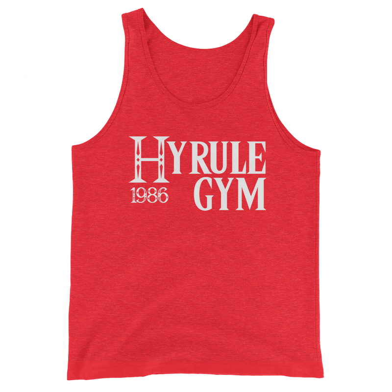 Men's Legend Of Zelda Hyrule Gym Athletic Tank