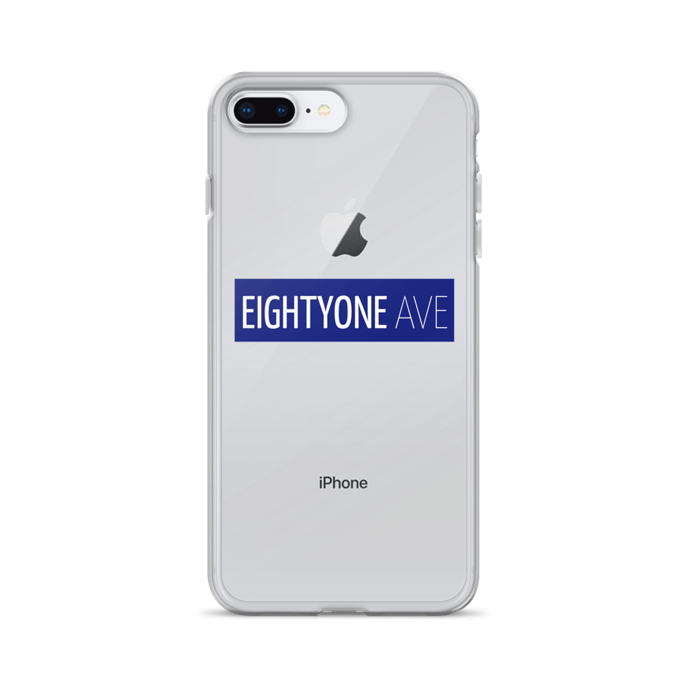 Eightyone Avenue iPhone Case