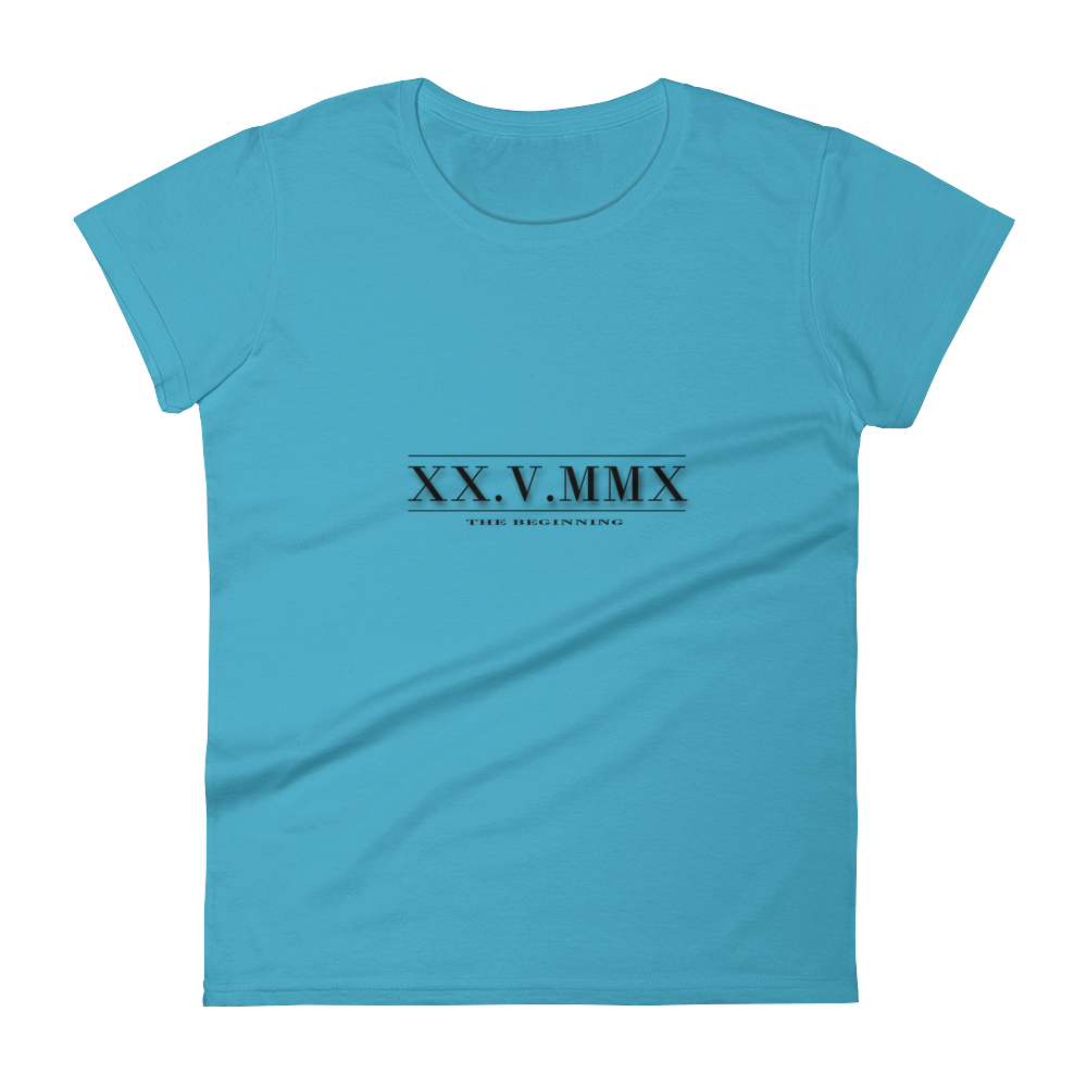 6K.G Roman Numerals Women's Short sleeve t-shirt