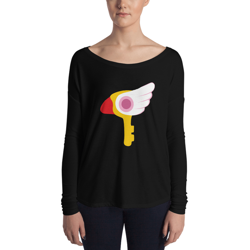 Women's Cardcaptor Sakura Key of Clow Long Sleeve Tee