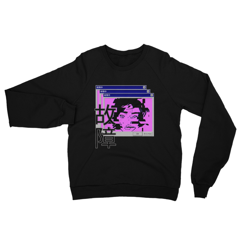Glitch Fleece Sweatshirt