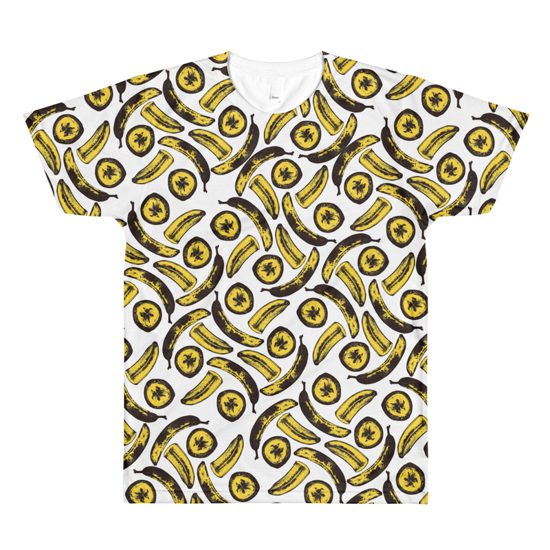 Men's Bananas! By Rhiannon All Over Tee