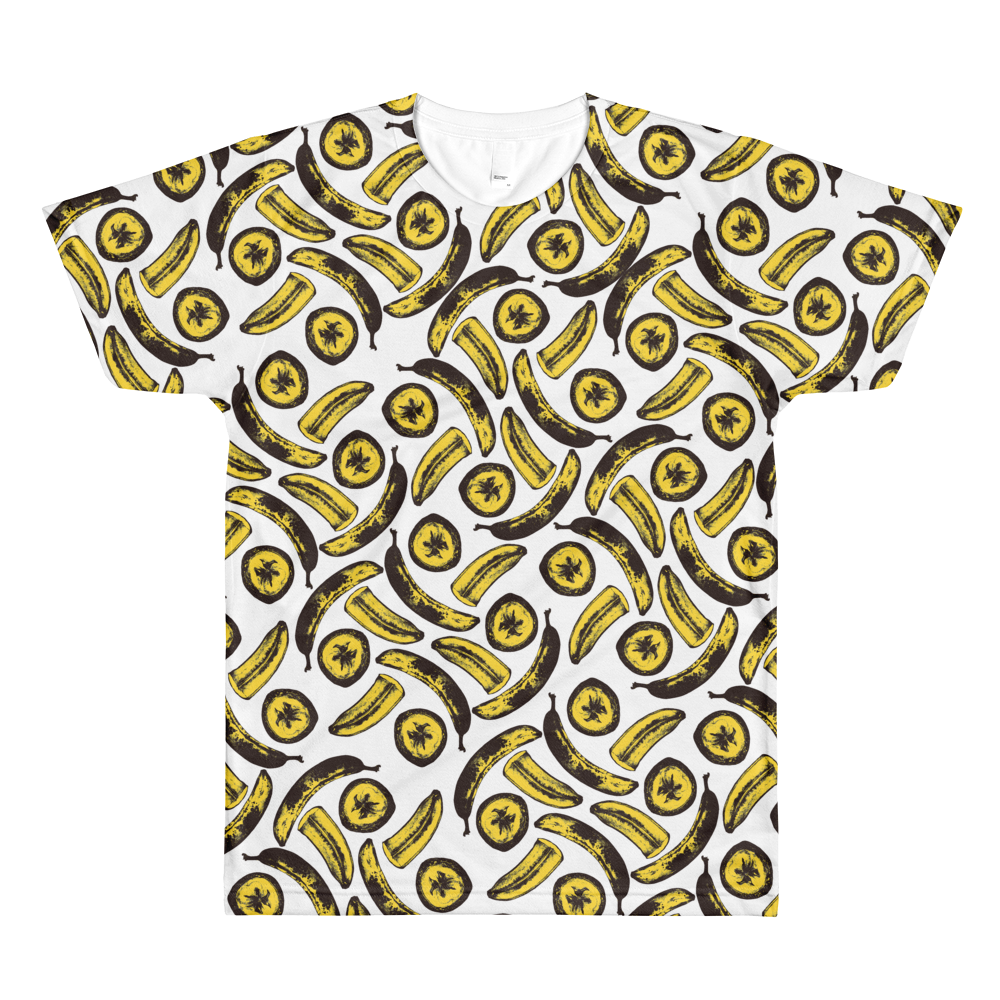 Women's Bananas! By Rhiannon All Over Tee