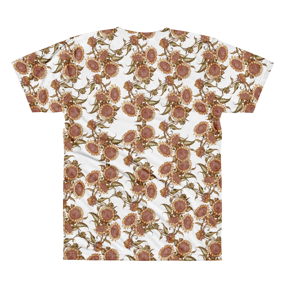 Women's Sunflower By Rhiannon All Over Tee