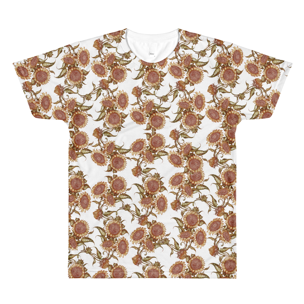 Men's Sunflower By Rhiannon All Over Tee