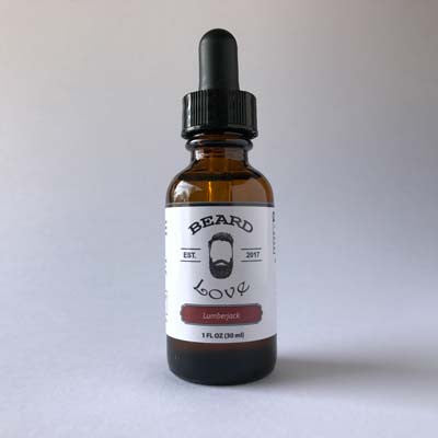 Premium Beard Oil with the scent of pine, cedar and oak