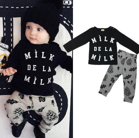 Milk de la Milk Top & Pants Set