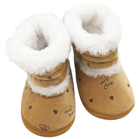 Baby Bear Lace-Up Snow Boots