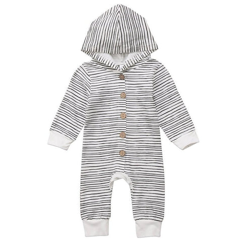 Concrete Skies Hooded Jumpsuit