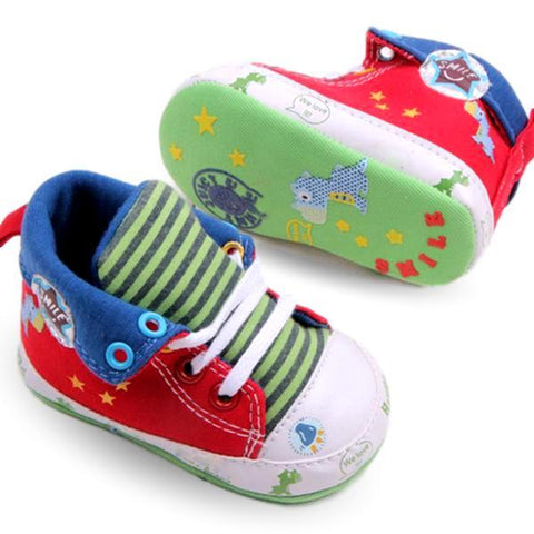 Cartoon High Tops