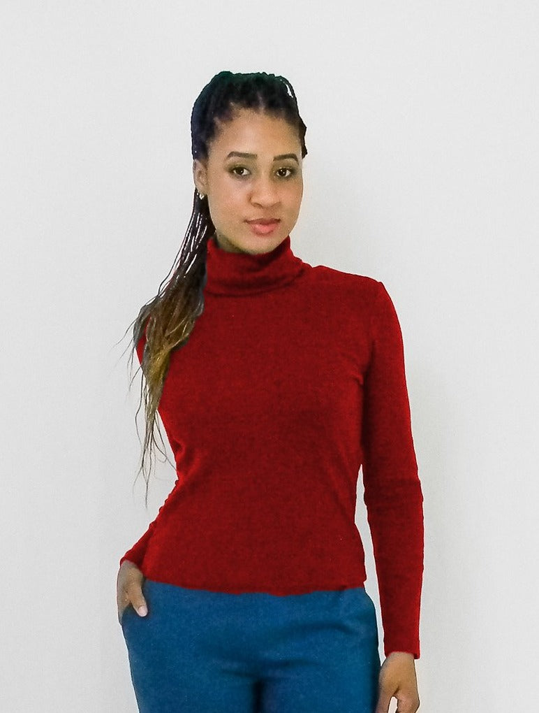 Gia Turtle Neck Top