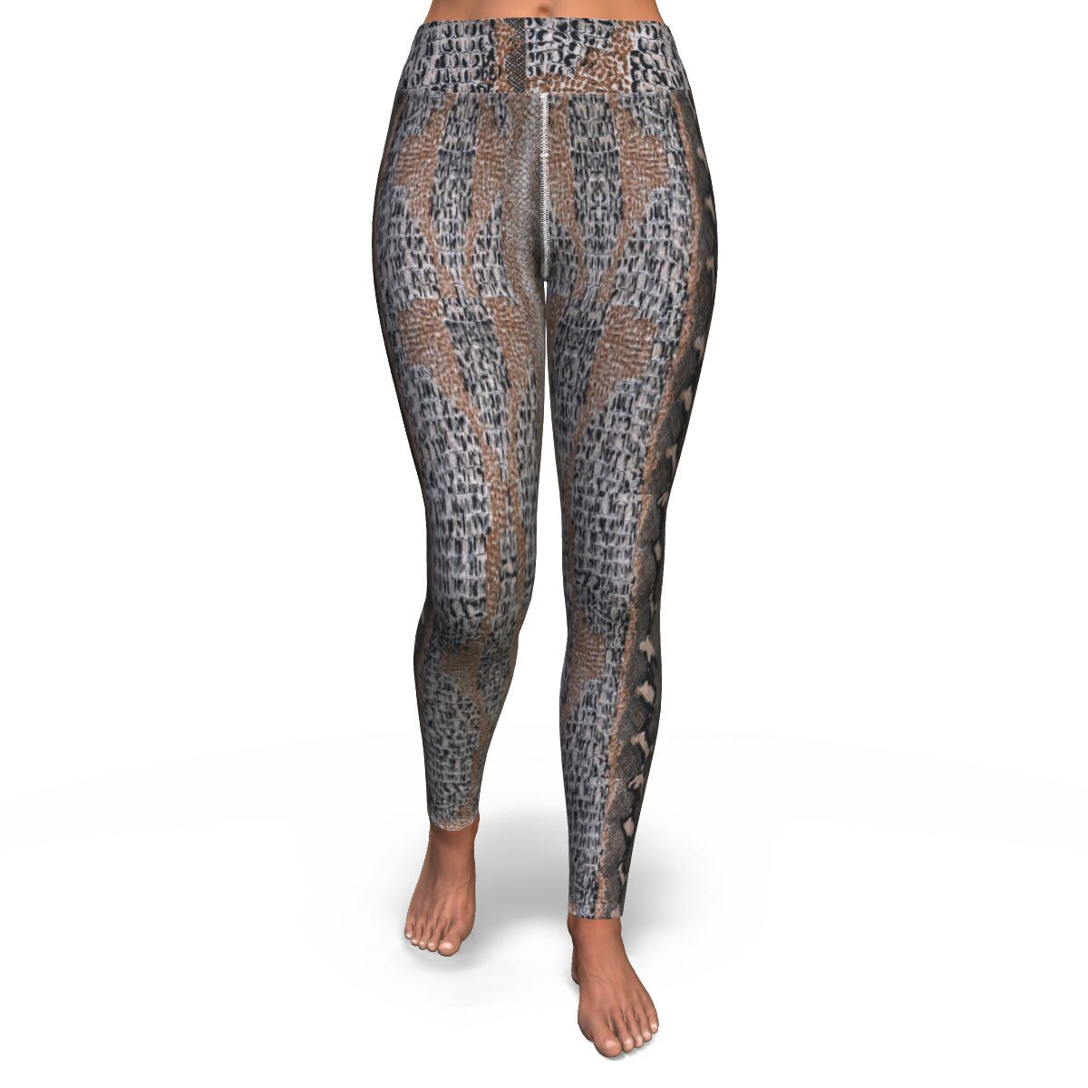 Snake Skin Yoga Leggings