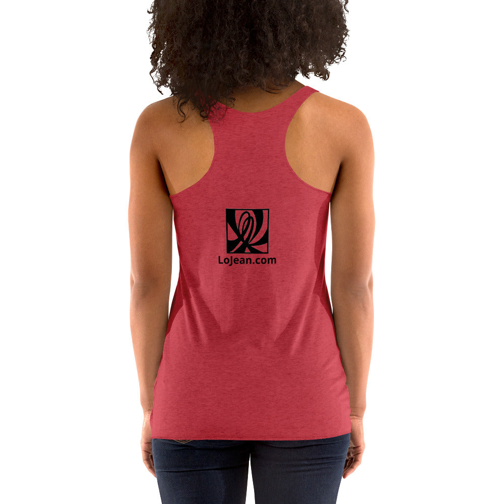 Double L Patch Women's Racerback Tank