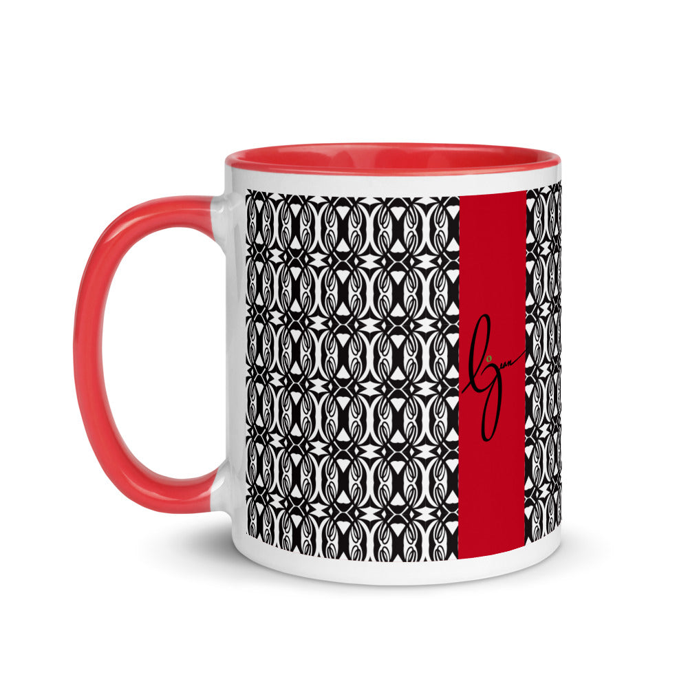 Double L Mug with Color Inside