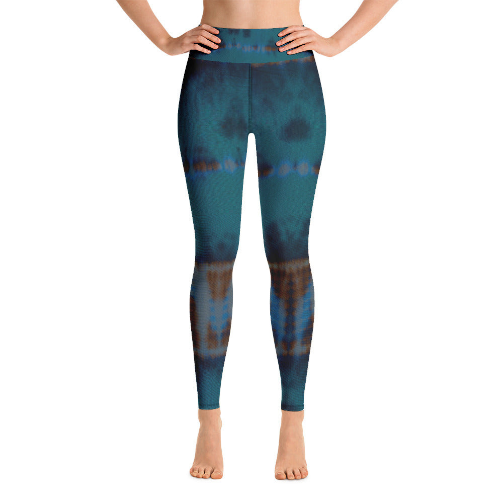 Teal Yoga Leggings