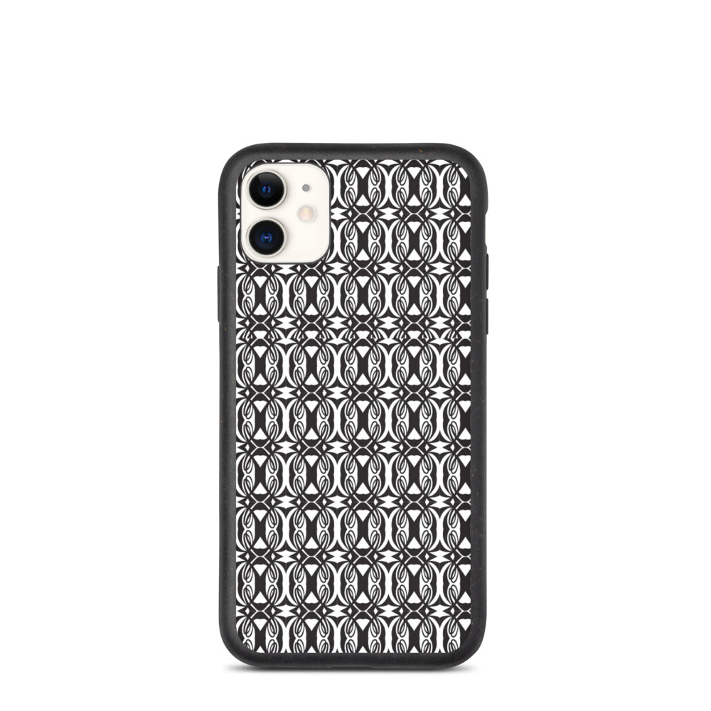 Double L Black & White iphone case