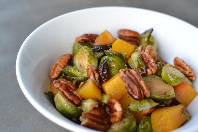 Brussels and Butternut Salad