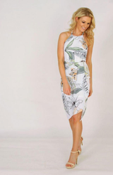 Palm Cove Midi Dress