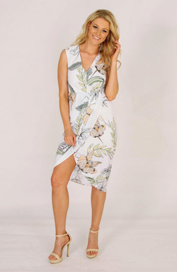 Palm Cove V-Neck Dress