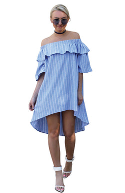 Santa Monica Off-Shoulder Dress