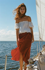 Travellers' Robe - Lea Wrap Maxi Skirt - Womens' Fashion Store - beach boho resort wear